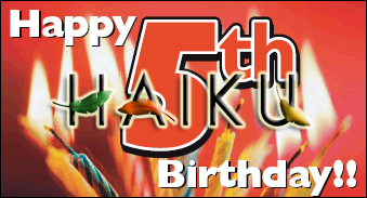 Happy Birthday 5th  Haiku